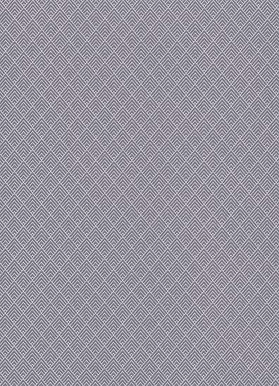 Szürke orientális stílusú geometriai mintás tapéta