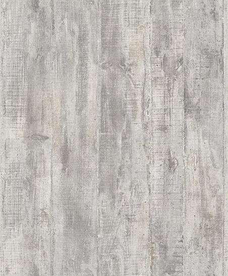 Szürke vintage deszka mintás vlies vinyl dekor tapéta