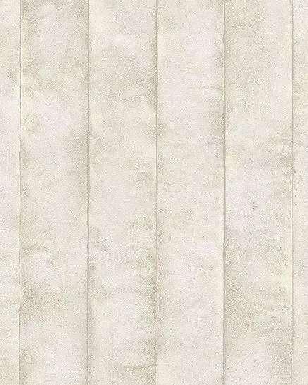 Szürkésbézs modern metál felület hatású csíkos mintás vlies dekor tapéta