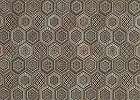 Tapéta bronz hexagon keleties mintával