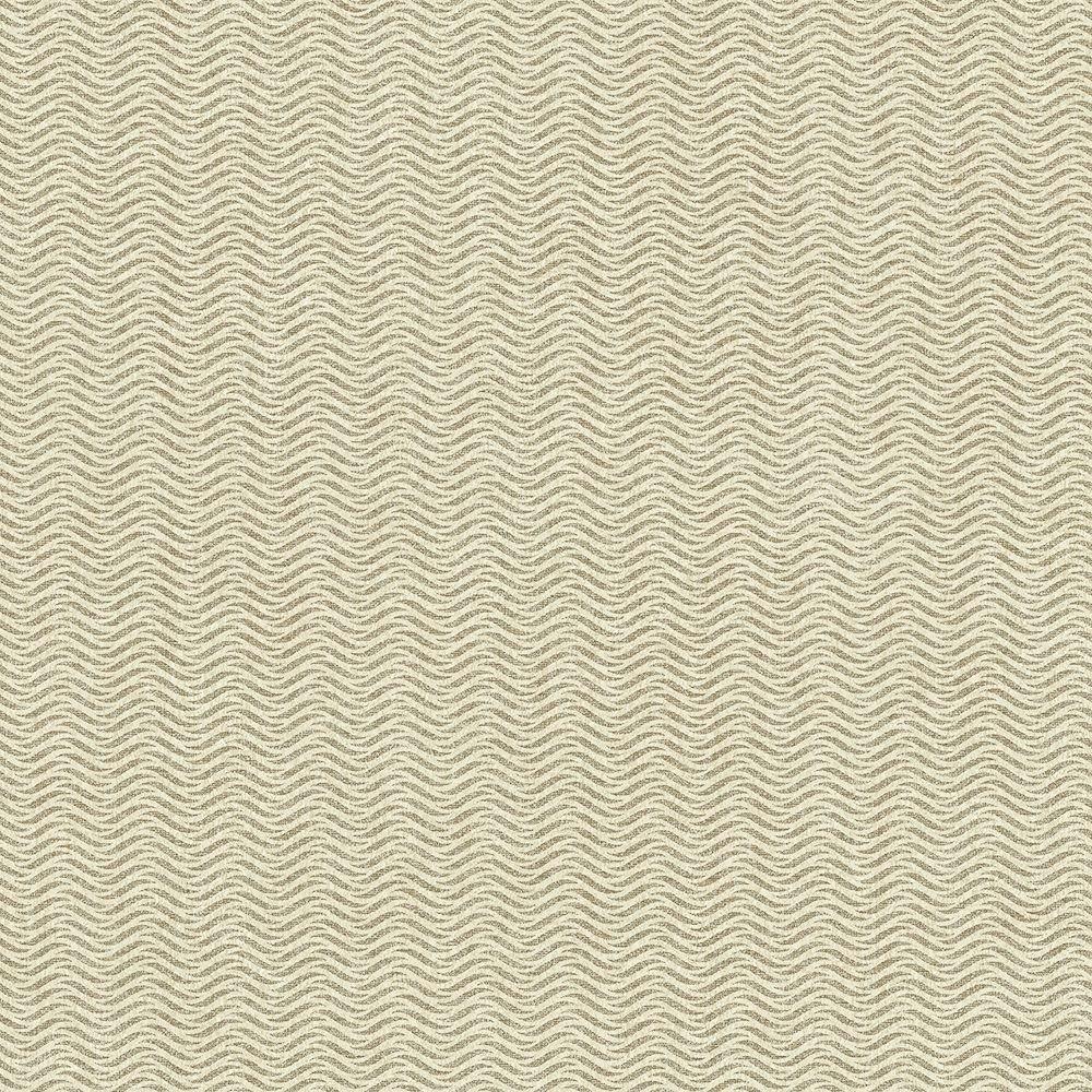 Tapéta csíkos hullám mintával bézs színben