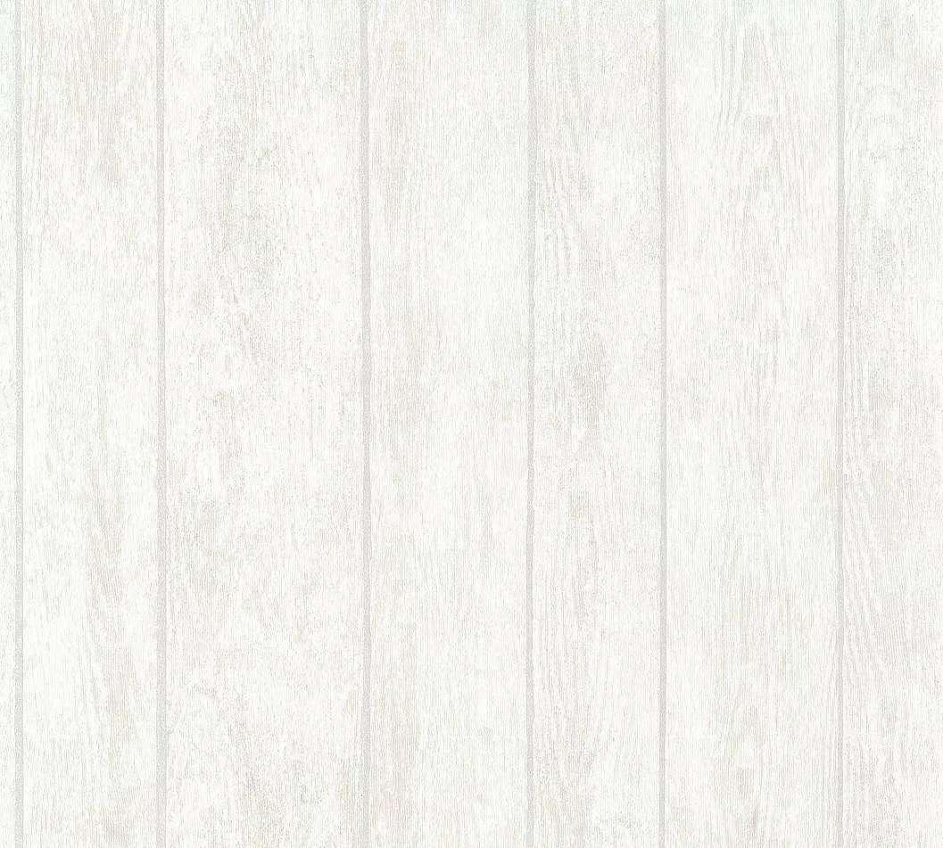 Tapéta fa hatású deszka mintával világos színben