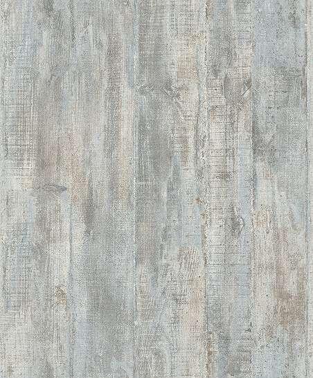 Tapéta fahatású deszka mintás kékes bézs színben