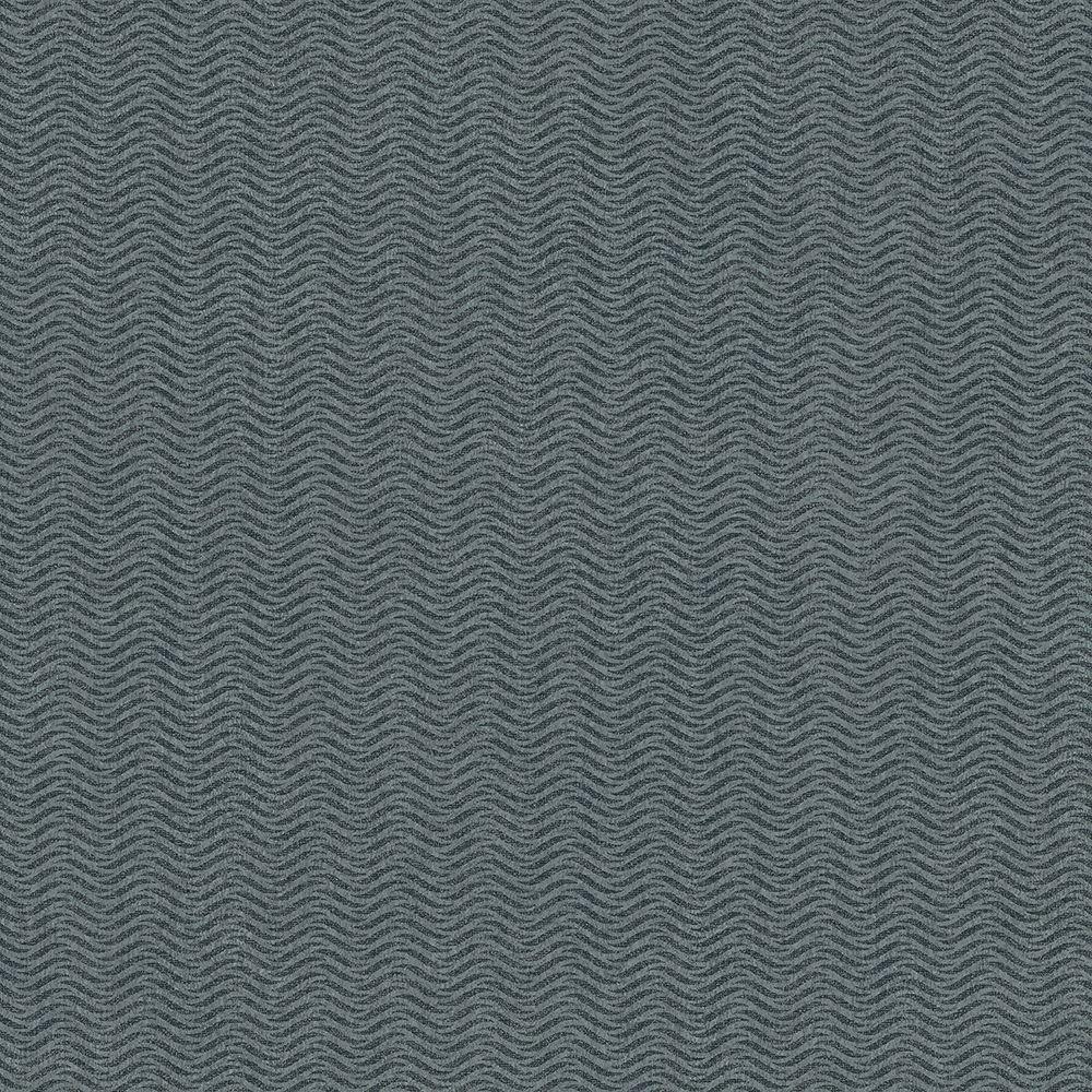 Tapéta hullám mintákkal kék alapon