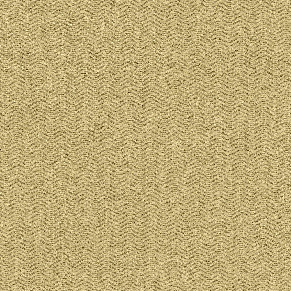 Tapéta hullám mintával sárgásbarna színben