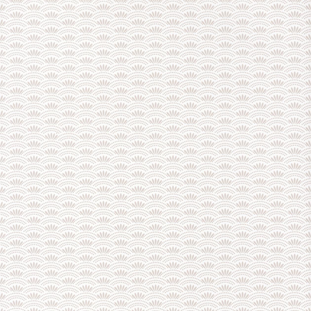 Tapéta Japán orientális stílusban pikkely mintával bézs színben