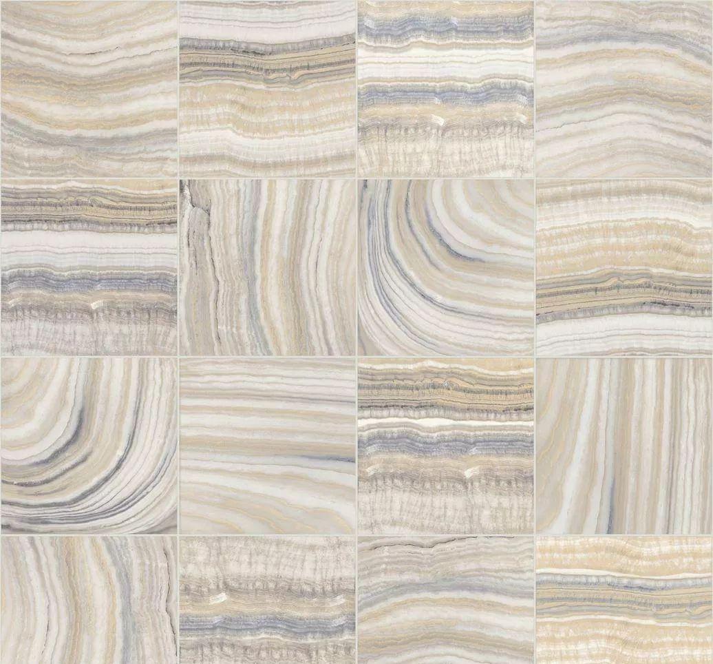 Tapéta márvány mintával csempe mintás alapon