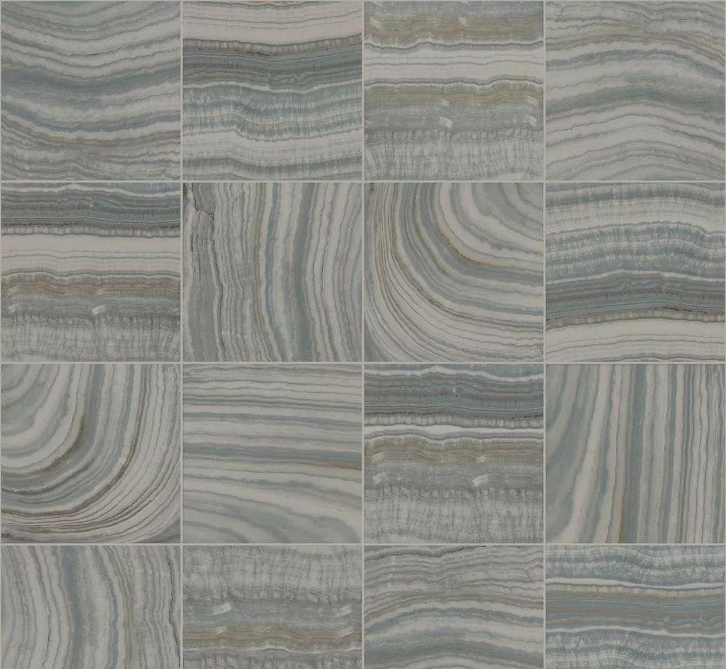 Tapéta sötétszürke márvány csempe mintával