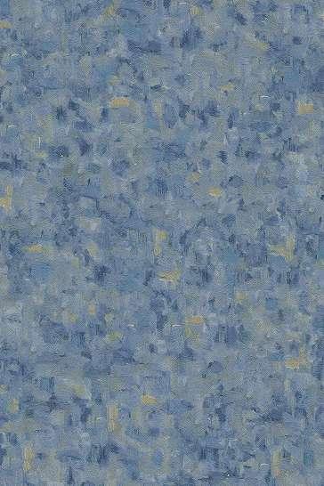 Tapéta Van Gogh ecsetvonásaival kék színben