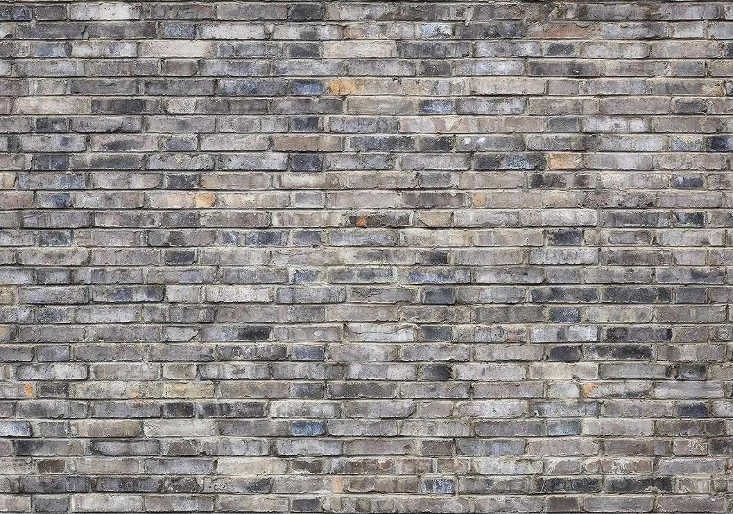 Téglamintás fali poszter szürke tágla mintával