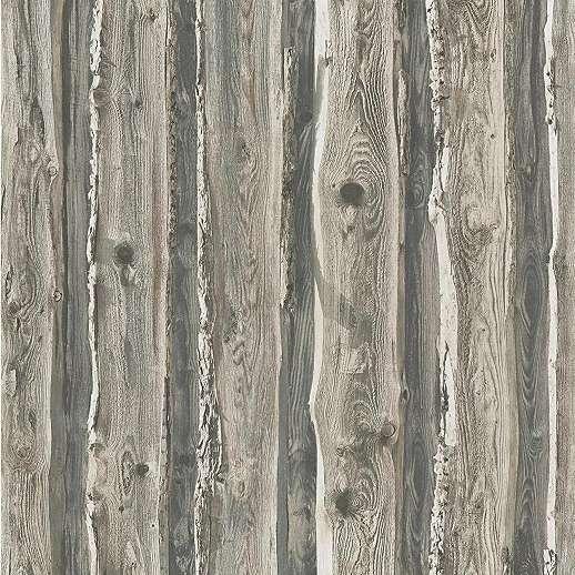 Természetes fahatású papír dekor tapéta