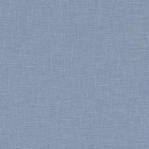 Textil szőtt hatású kék vlies tapéta