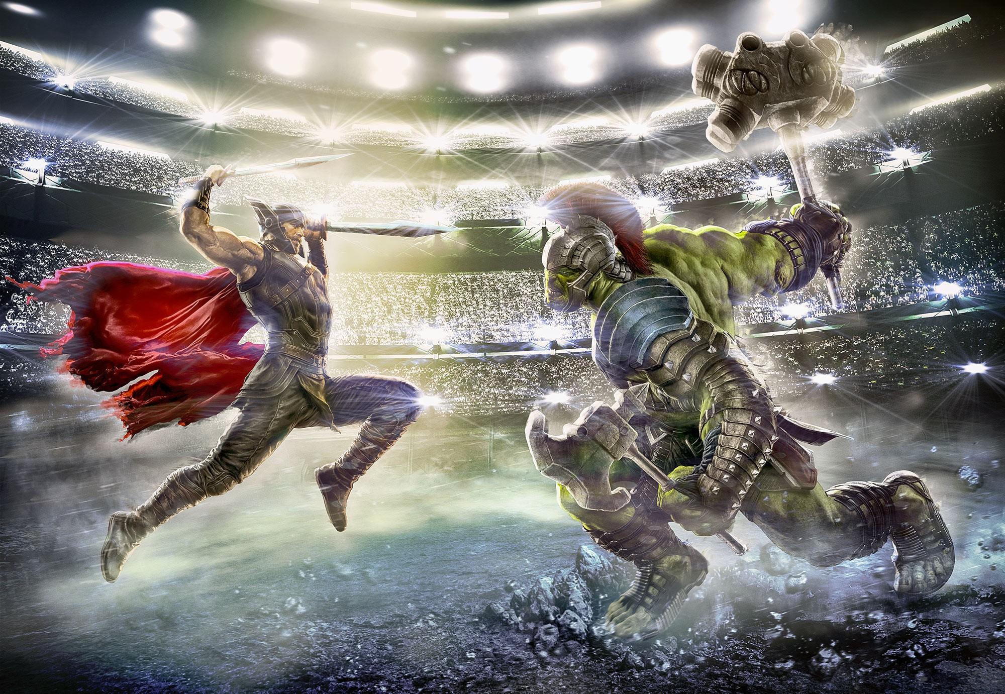 Thor Hulk fali poszter