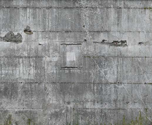 Töredezett fal hatású, loft stílusú óriás fali poszter.