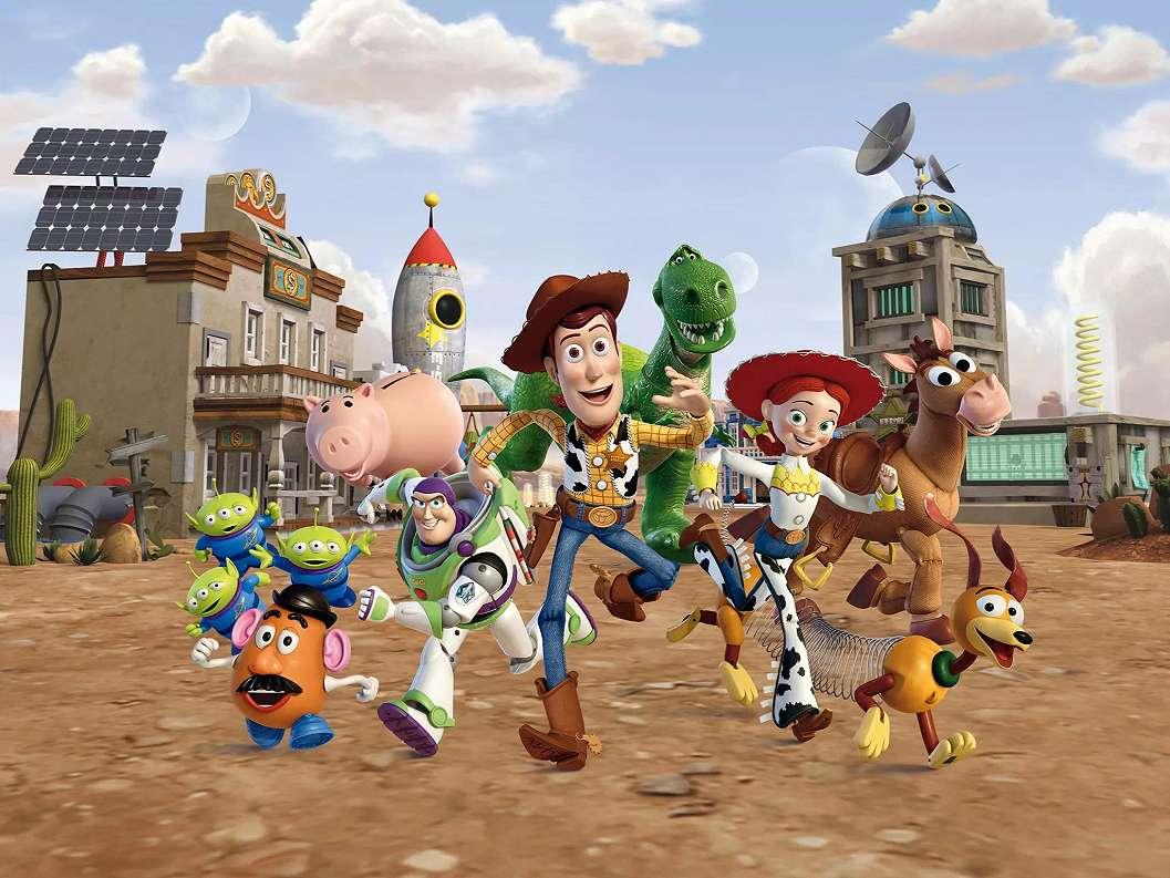 Toy Story fali poszter gyerekszobába