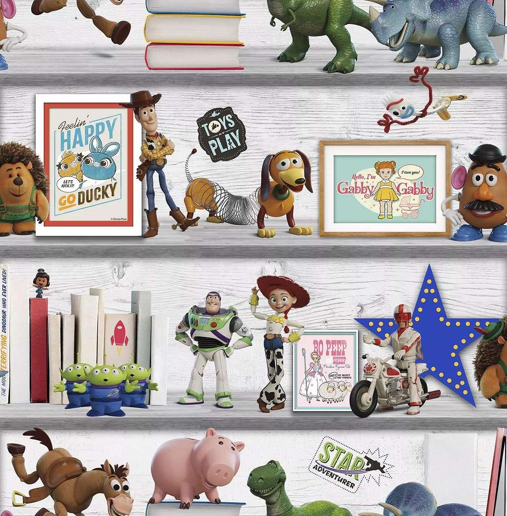 Toy Story mintás gyerektapéta