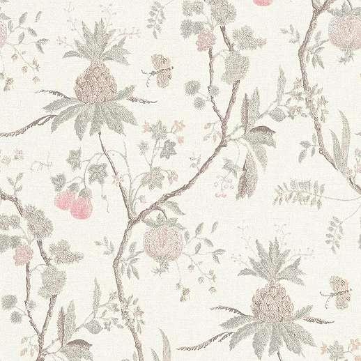 Trópus növény mintás modern dekor tapéta