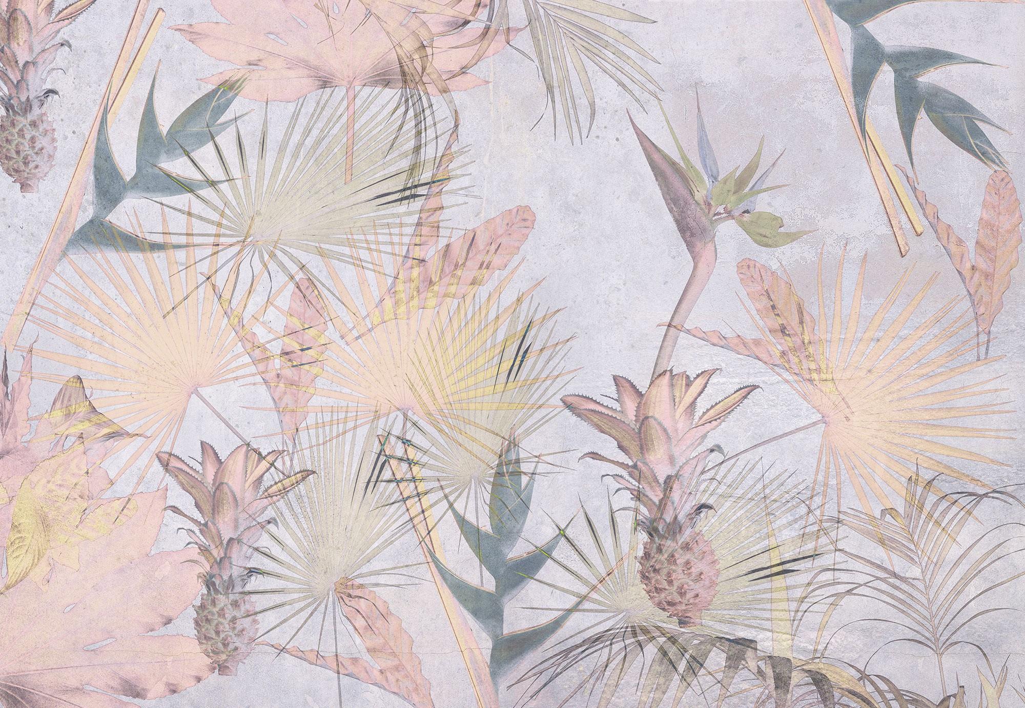 Trópusi virágok fali poszter