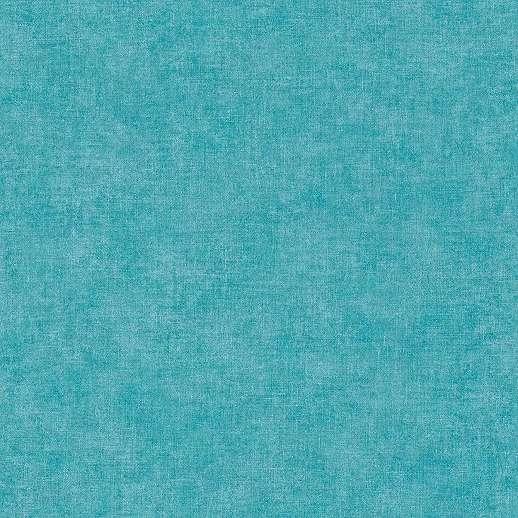 Tűrkiz textil szőtt hatású vlies-vinyl egyszínű tapéta