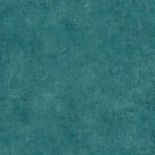 Türkizkék koptatott felületű mosható vlies vinyl dekor tapéta
