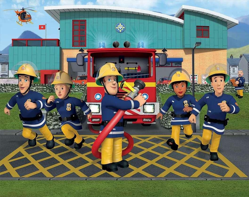 Tűzoltó Sam fali poszter