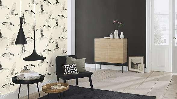 Vadludak skandináv stílusú tapéta