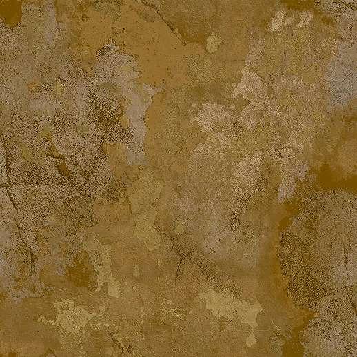 Vakolta hatású luxus vinyl tapéta barna arany színvilágban