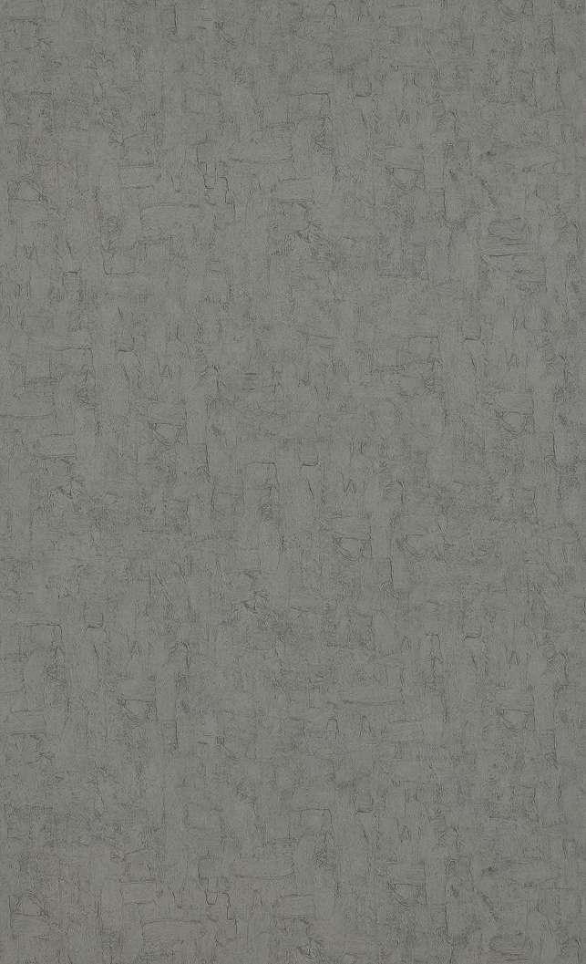 Van Gogh ecsetvonás mintás egyszínű tapéta sötét szürke színben