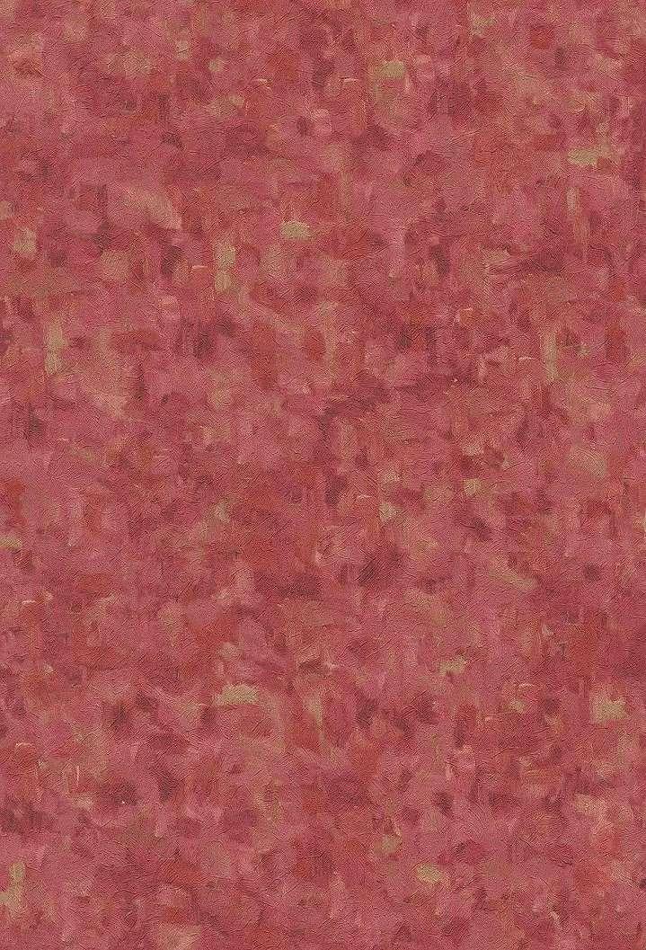Van Gogh ecsetvonásai piros színű tapétán