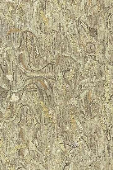 Van Gogh tapéta kézi festett hatással sárgás színvilágban