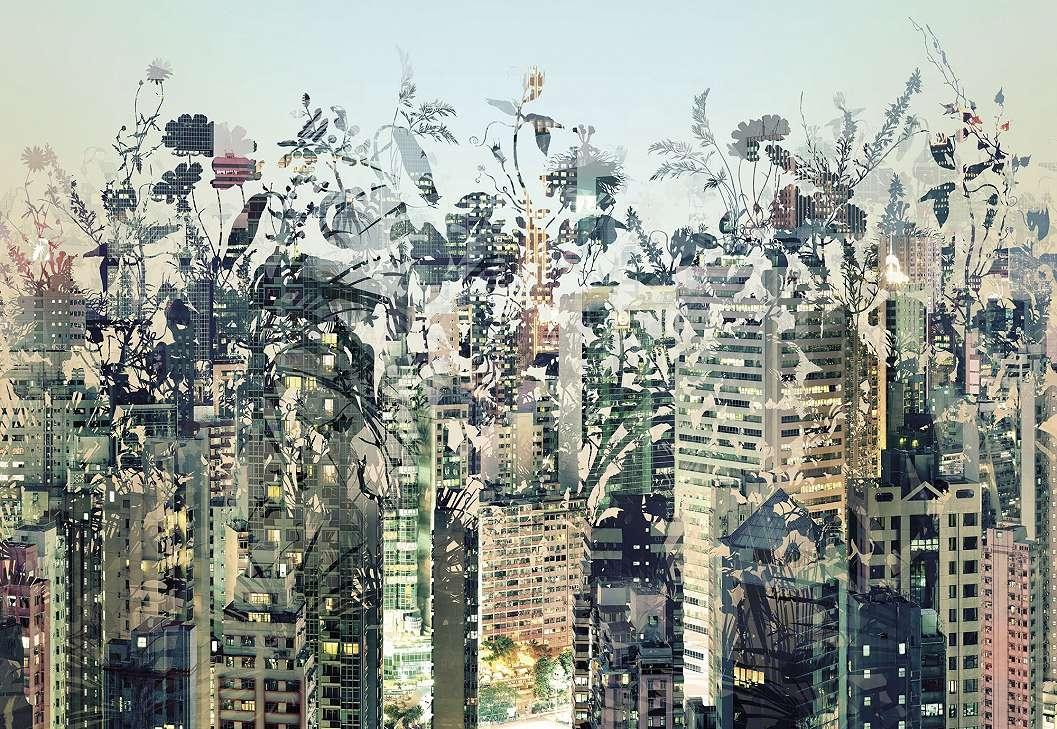 Városi dzsungel fali poszter
