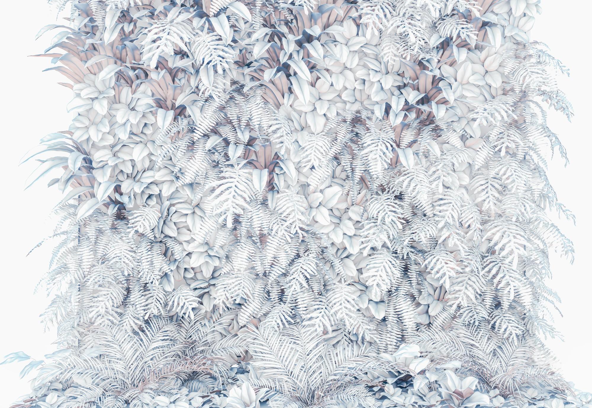 Vertikális kert télies hangulatú fali poszter