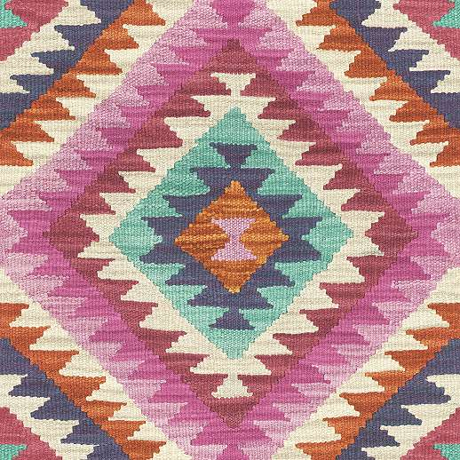 Vidám hangulatú tradicionális mintás tapéta
