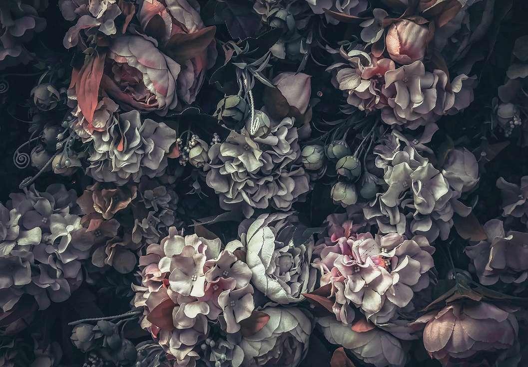 Virágmintás fali poszter
