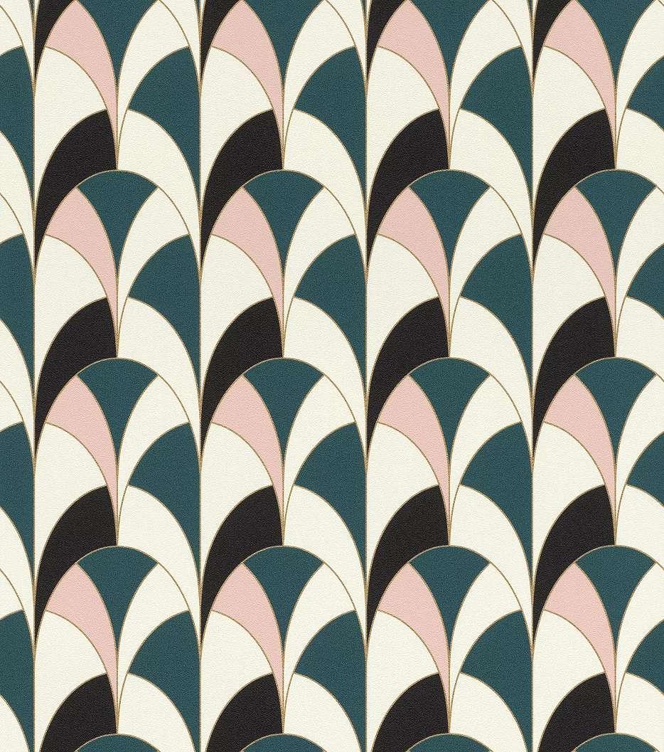 Vlies tapéta modern geometrikus mintával