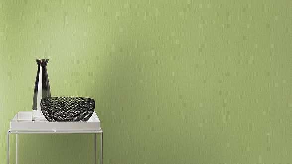 Zöld egyszínű uni tapéta