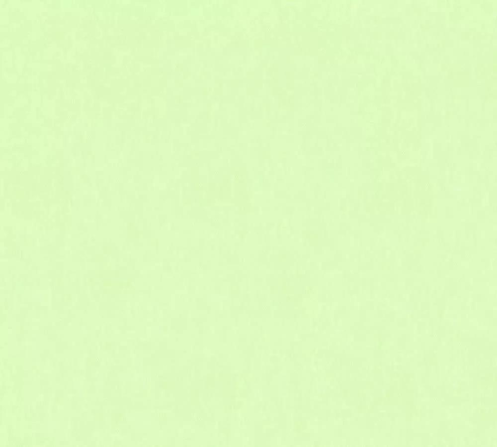 Zöld egyszínű vlies gyerek tapéta