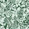 Zöld természet mintás tapéta