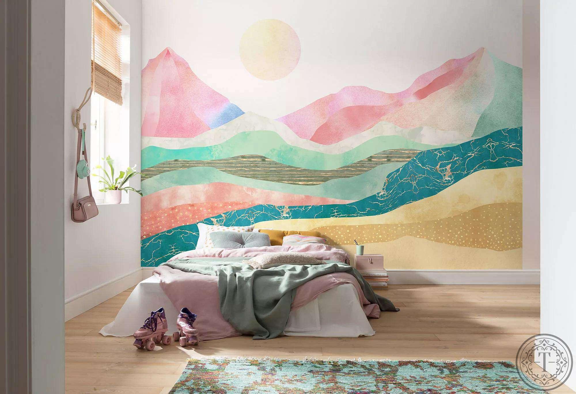 minimalista tapéta természet